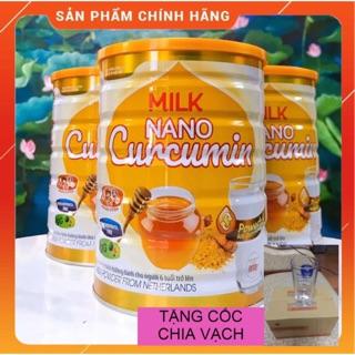 Sữa Nghệ Milk Nano Curcumin 400gr-900gr – Tốt cho người bị dạ dày, đại tràng