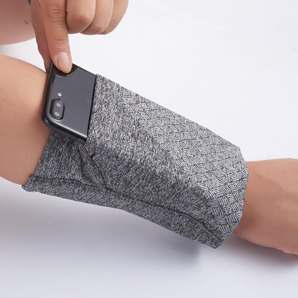 Túi đựng điện thoại đeo tay khi tập thể thao - Bao đeo tay co giãn đựng điện thoại Rimix