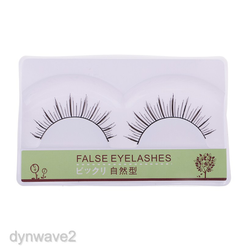 6 Pairs Beauty Natural Make Up Handmade Lash Long Style 3D False Eyelash Set