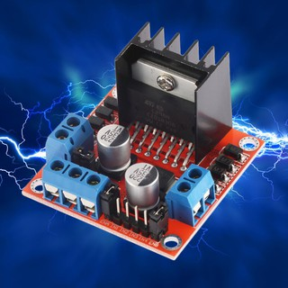 Mô Đun Điều Khiển Động Cơ Bước 2 H L298N Cho Arduino