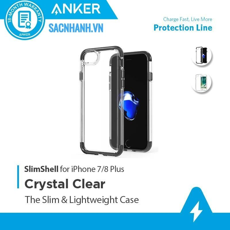 Ốp Lưng iPhone 7/8 Plus Anker SlimShell - A7051