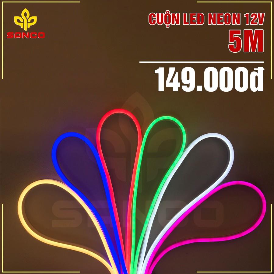 DÂY LED NEON 12V - CUỘN 5M
