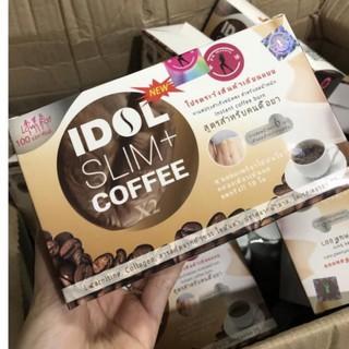 (GIẢM MẠNH - CHÍNH HÃNG) CÀ PHÊ GIẢM CÂN IDOL SLIM COFFEE CHUẨN MẪU CŨ thumbnail