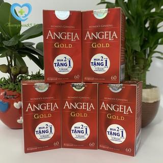 [Giá Sốc] Sâm Angela Gold – Bổ Sung Nội Tiết Tố Nữ – Lọ 60 viên – Có tem tích điểm cho khách hàng – thaonguyen8536