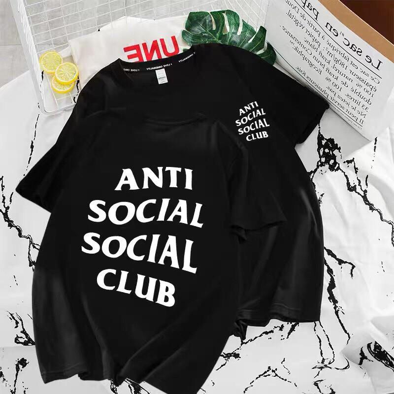 Áo thun Anti Socical Socical Club form rộng kiểu dáng đẹp thoáng mát