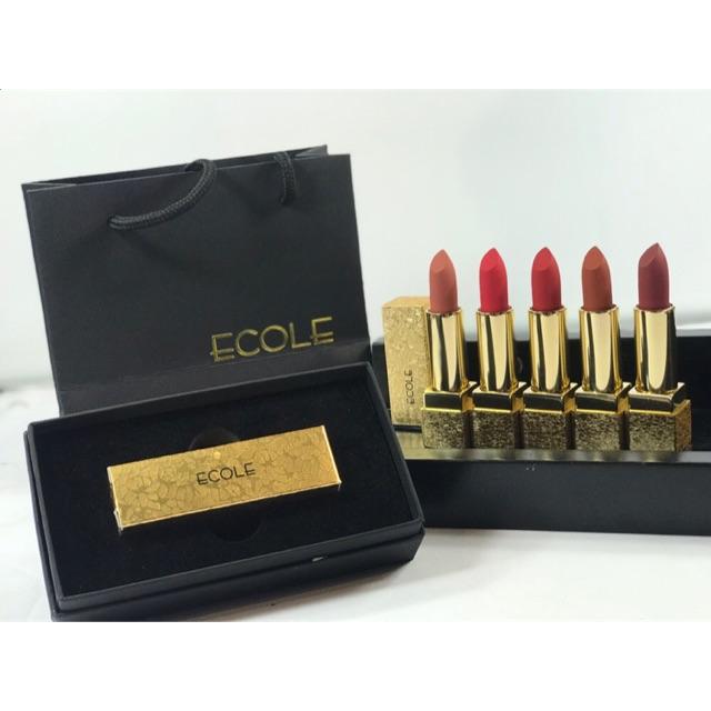 Son thỏi lì Ecole Delight Lipstick Ver2 2019 3.5g - 22121514 , 2112549922 , 322_2112549922 , 230000 , Son-thoi-li-Ecole-Delight-Lipstick-Ver2-2019-3.5g-322_2112549922 , shopee.vn , Son thỏi lì Ecole Delight Lipstick Ver2 2019 3.5g