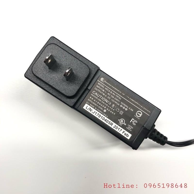Nguồn Adapter 12V 2A ELEMENTECH (hàng Zin)