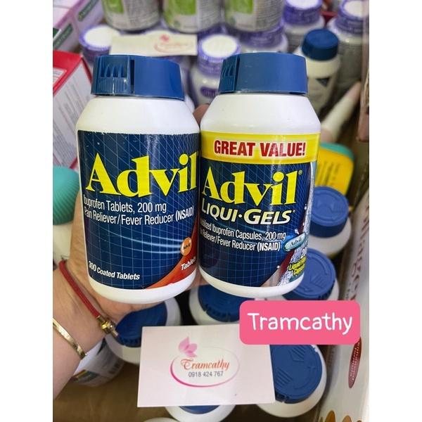 advil 360 viên hàng mỹ,advil liqui gels