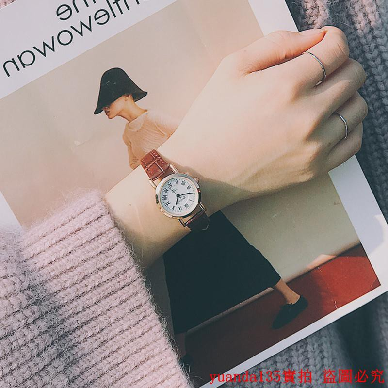 đồng hồ nữ mặt tròn dây da thời trang hàn - 22695263 , 2912744606 , 322_2912744606 , 388600 , dong-ho-nu-mat-tron-day-da-thoi-trang-han-322_2912744606 , shopee.vn , đồng hồ nữ mặt tròn dây da thời trang hàn
