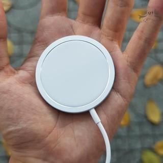 [SẠC NHANH] Đế Sạc Không Dây Apple MagSafe 15W Cho iPhone 12 Và Các Dòng Máy Hỗ Trợ Sạc Không Dây Chuẩn Qi