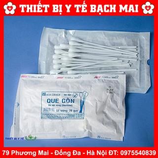 Que Bông Gòn, Que Xét Nghiệm Bảo Thạch - 20 Que gói thumbnail