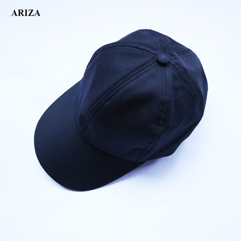 Mũ lưỡi trai nam nữ Ariza vải kaki A02