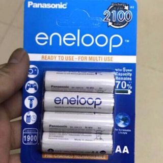 [Chính Hãng] Pin fash. Pin sạc Panasonic 2a 2100 ÊnLoop 168000đ