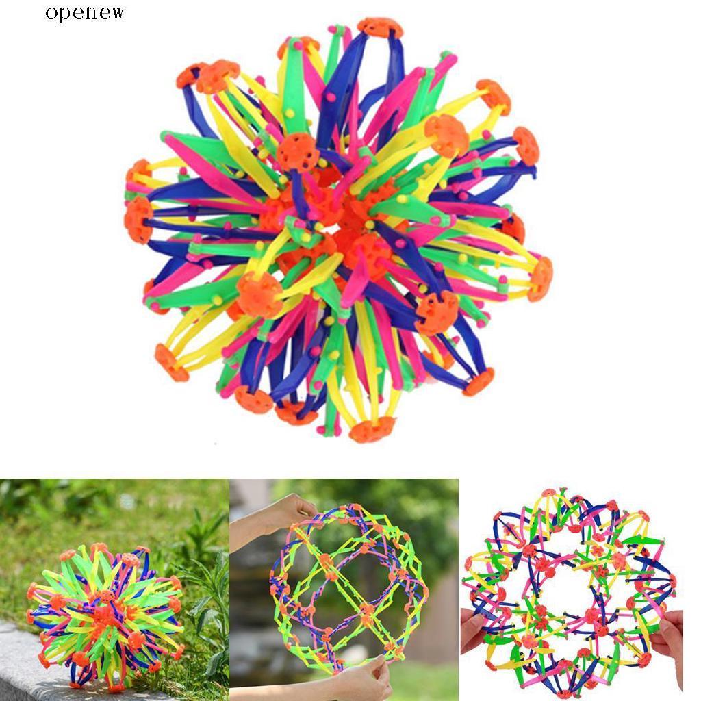 op Kids Expanding Ball Toy Multi Coloured Ball Children Flexible Stress Ball
