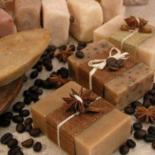 Bánh xà phòng handmade Coffee – Quế (Coffee – Cinnamon soap cake)