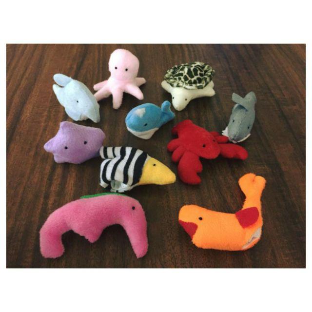 Rối ngón kể chuyện - Chủ đề Sinh vật biển