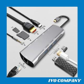 Thiết Bị Chuyển Đổi Đa Năng USB Type C 9 in 1