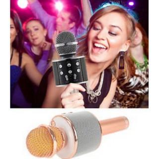 Mic karaoke KTC ko dây bluetooth WS858 WS-858 thumbnail