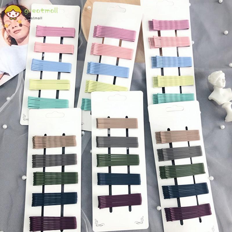 Set 40 kẹp tóc nhiều màu chống trượt