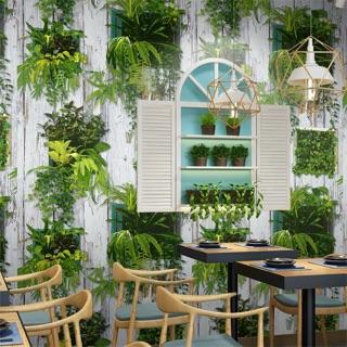 Yêu ThíchGiấy dán tường giả gỗ trang trí cỏ 3D khổ 53cmx10m ( tặng kèm keo khi mua trên 2 cuộn )