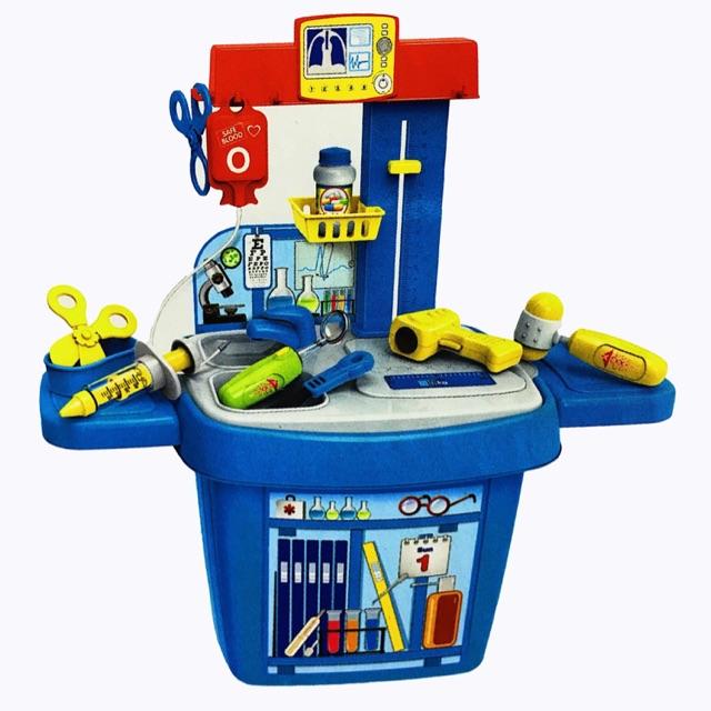 Bộ đồ chơi bác sĩ cho bé yêu - 2722042 , 709331703 , 322_709331703 , 155000 , Bo-do-choi-bac-si-cho-be-yeu-322_709331703 , shopee.vn , Bộ đồ chơi bác sĩ cho bé yêu
