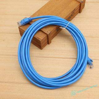 SV  1Pc Round UTP Ethernet Network Cat.06 1m/5m Cable RJ45 Patch LAN Cord Wire ❤❤