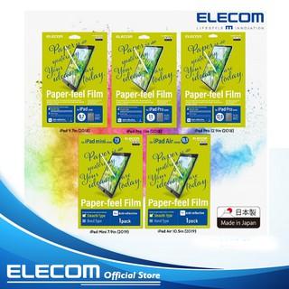 Miếng dán màn hình cho Ipad Elecom Paper- Feel BỀ MẶT TRƠN BÓNG (Hàng Chính Hãng)