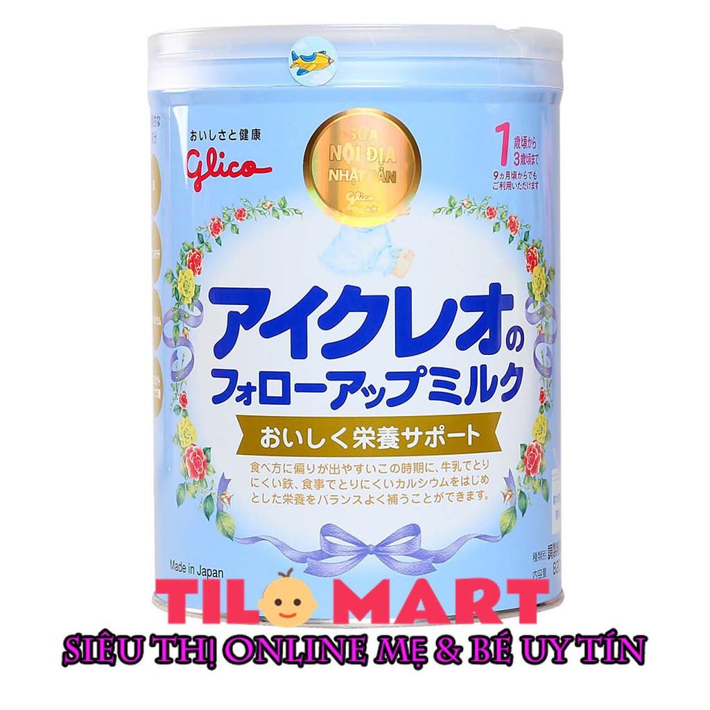 Sữa bột Glico Icreo số 1 136g/820g (Nội địa Nhật)