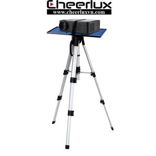 Kệ máy chiếu 3 chân di động, độ cao 50cm-120cm, chất liệu hợp kim nhôm nhẹ chắc chắn. chịu lực 10kg. thumbnail