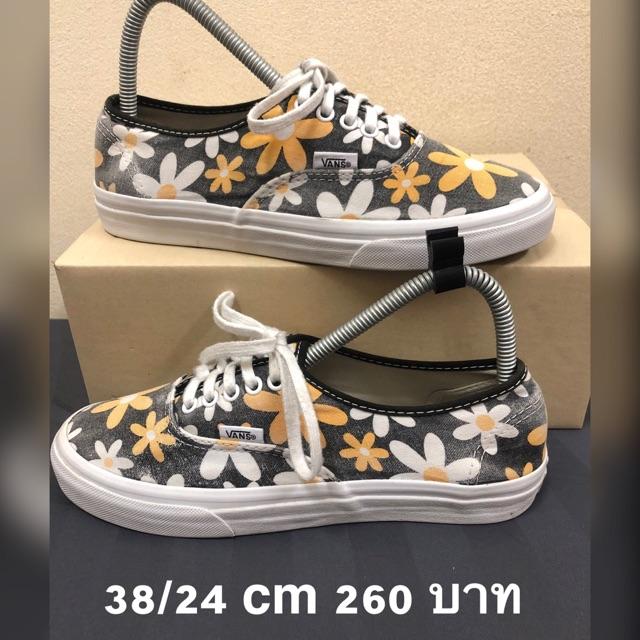 Vans แท้ รองเท้ามือ2 38 ยาว24cm