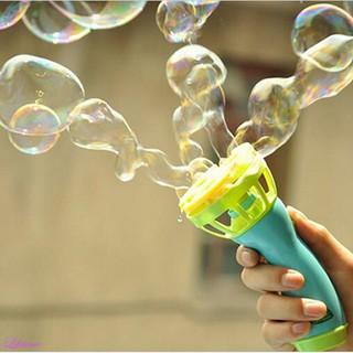 Fully Automatic Cute Bubble Machine New Magic Wand Bubble Gun Kids Toy