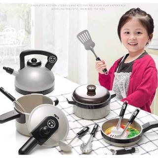 [HÀNG LOẠI 1] Bộ đồ chơi nấu ăn cho bé Home kitchen 36 chi tiết loại to dầy dặn (Cam kết hàng y hình)