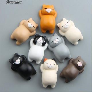 👍COD✅Antarctical 3D Cat Sticker Refrigerator Home Phone