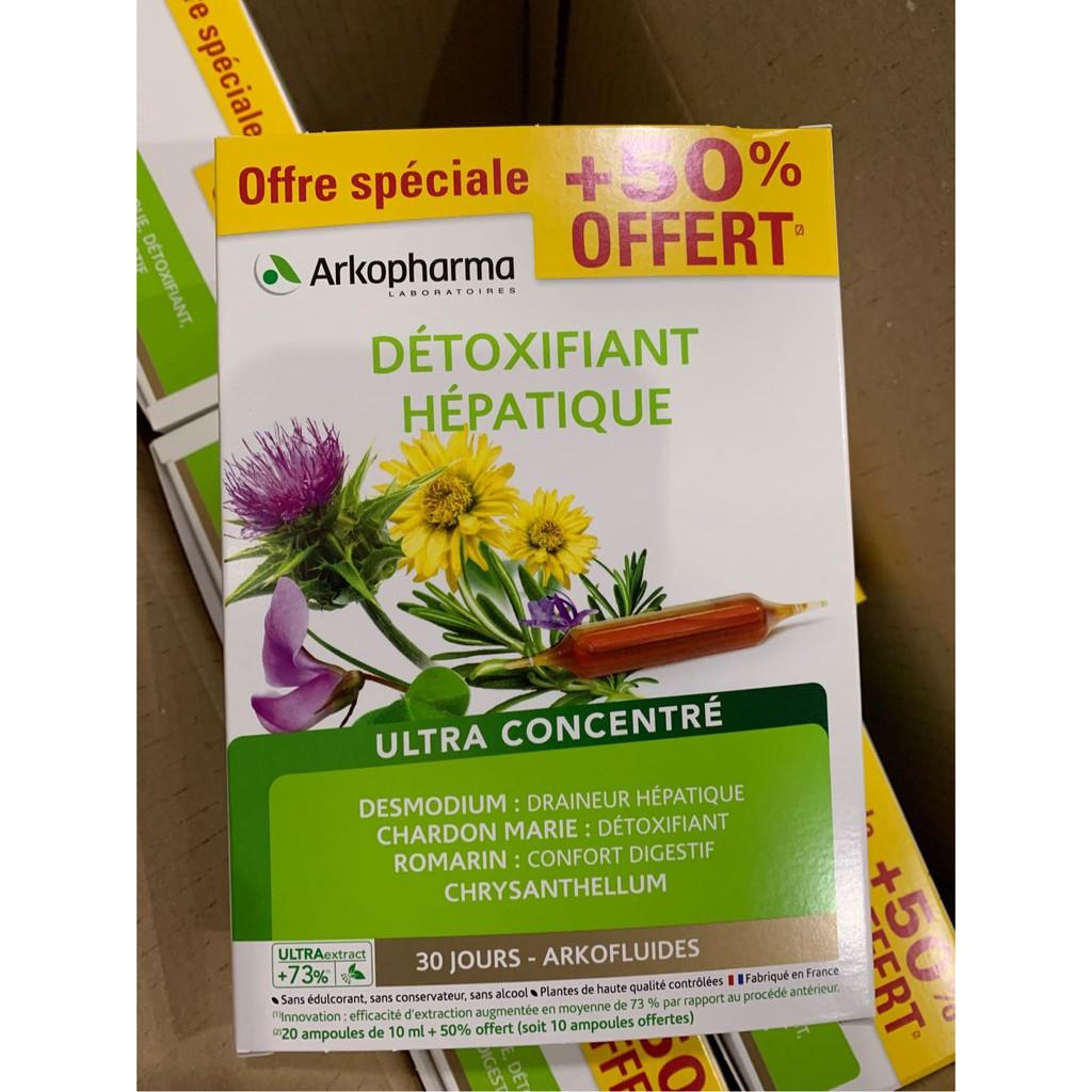detoxifiant hepatique cách dùng)