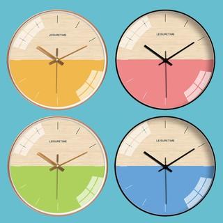 Đồng hồ treo tường kim trôi cao cấp AOBA-MK141-145