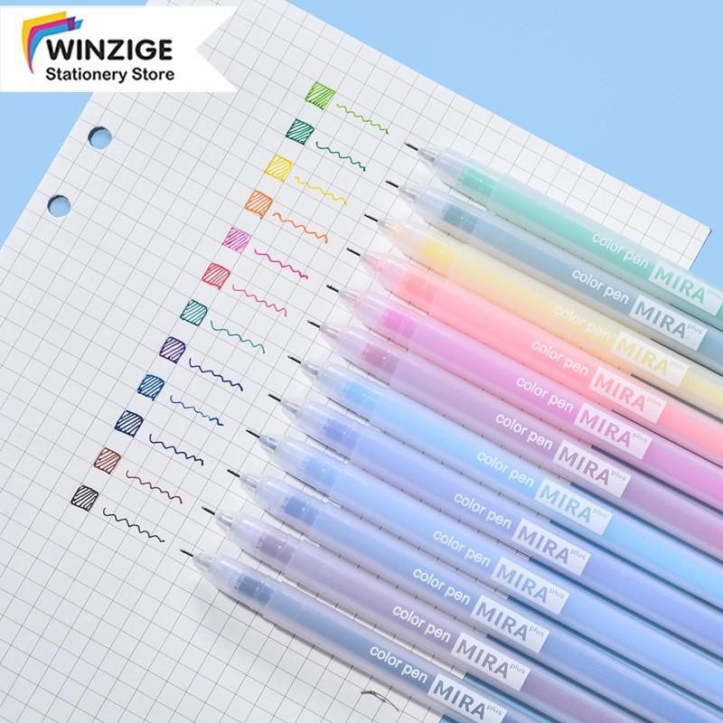 Bút gel ngòi 0.5mm nhiều màu tùy chọn cho học sinh/sinh viên