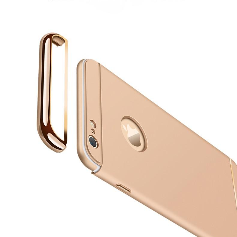 Ốp lưng iPhone 5/5s/SE +tặng kèm cường lực/ iring/ốp dẻo ( Gold- đỏ- đen- bạc)