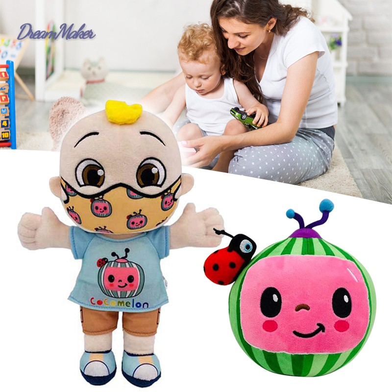 Cocomelon JJ Plush Toy 26cm/10in Boy Stuffed Doll Educational Kids Children Birthday Christmas Gift