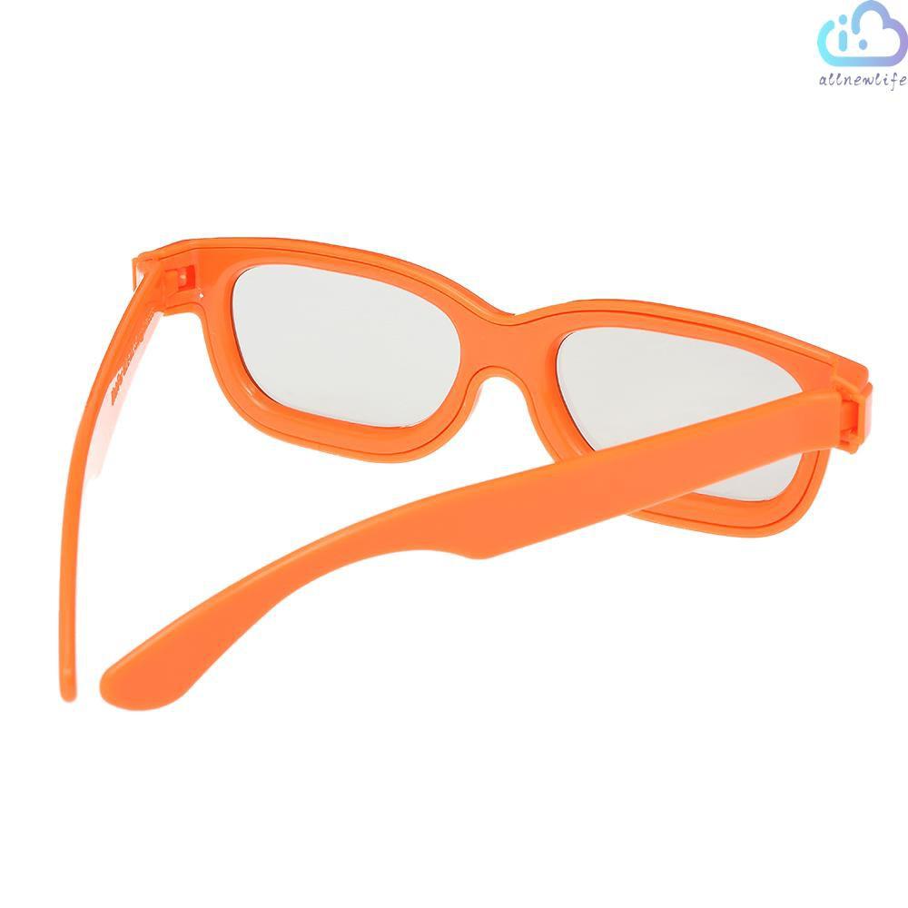 A&L C02CP Passive 3D Glasses Circular Polarized Lenses for Polarized TV Real D 3D Cinemas for Sony Panasonic for Kids