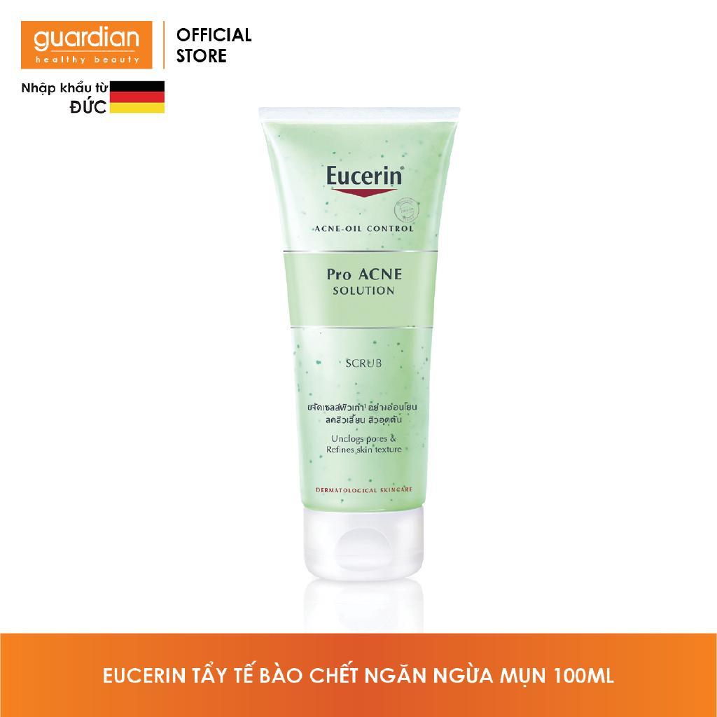 Tẩy tế bào chết ngăn ngừa mụn Eucerin Pro Acne Scrub 100ml-1