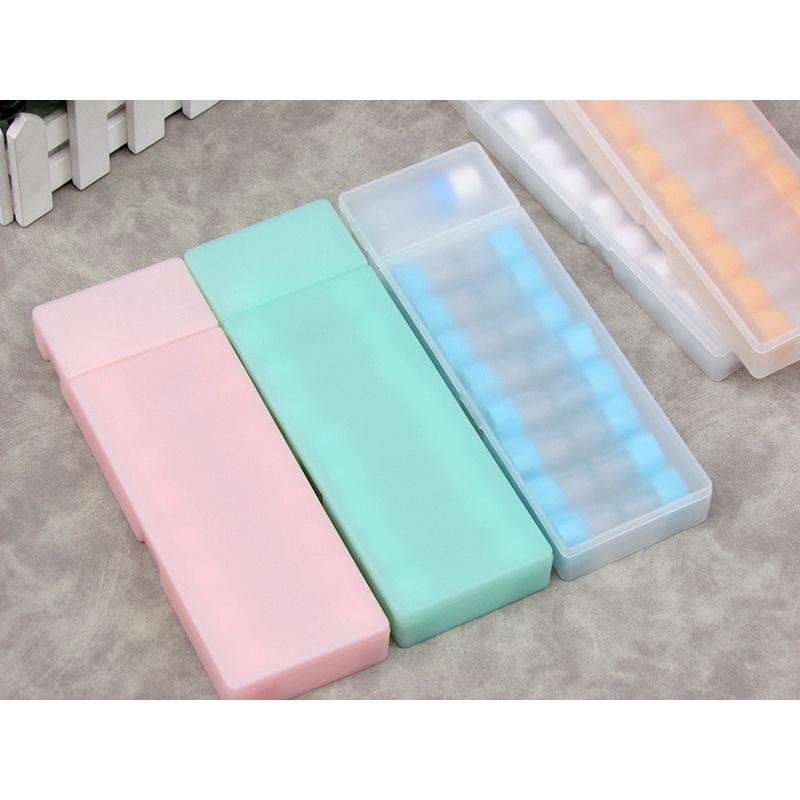 [Stock] 8 pairs RGP contact lens boxes, beautiful pupil box, multi pair lens box, hard lens box, multi color