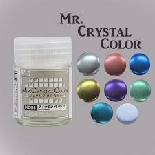 Sơn Mr Crystal Color XC02 - XC07
