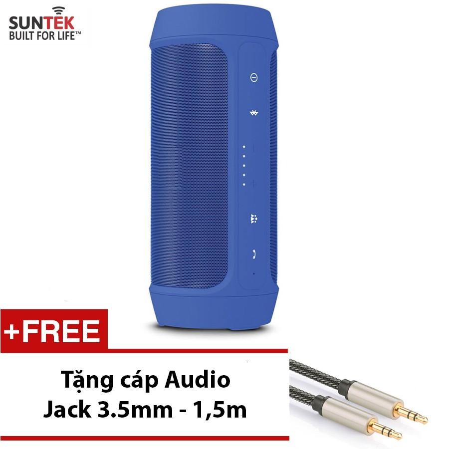 LOA Bluetooth SUNTEK S9 Kiêm Pin sạc dự phòng Blue