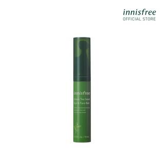 Thanh lăn dưỡng ẩm dành cho da mặt và mắt innisfree Green Tea Seed Eye & Face Ball 10ml