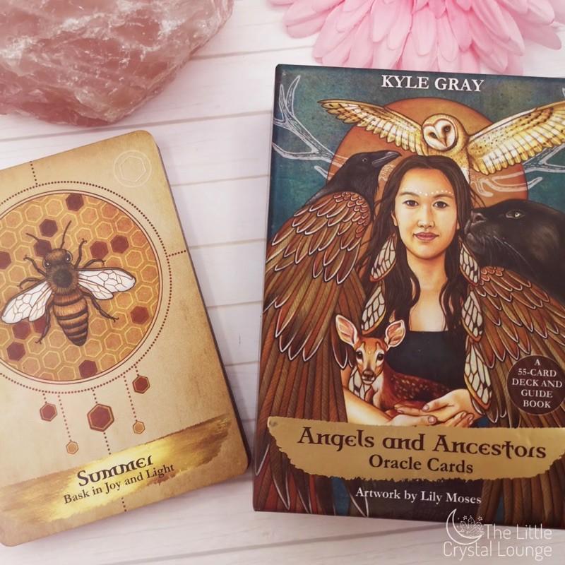 Bộ bài Angels and Ancestors Oracle Deck – Thông điệp từ thiên thần và người cổ xưa – Order trực tiếp Hay House Mỹ