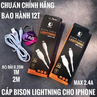 Cáp Bison Lightning Cho IPhone - Chính Hãng (Bảo Hành 12T) thumbnail