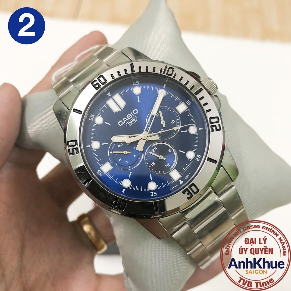 Đồng hồ nam Casio Standard chính hãng Anh Khuê MTP-VD300 Series