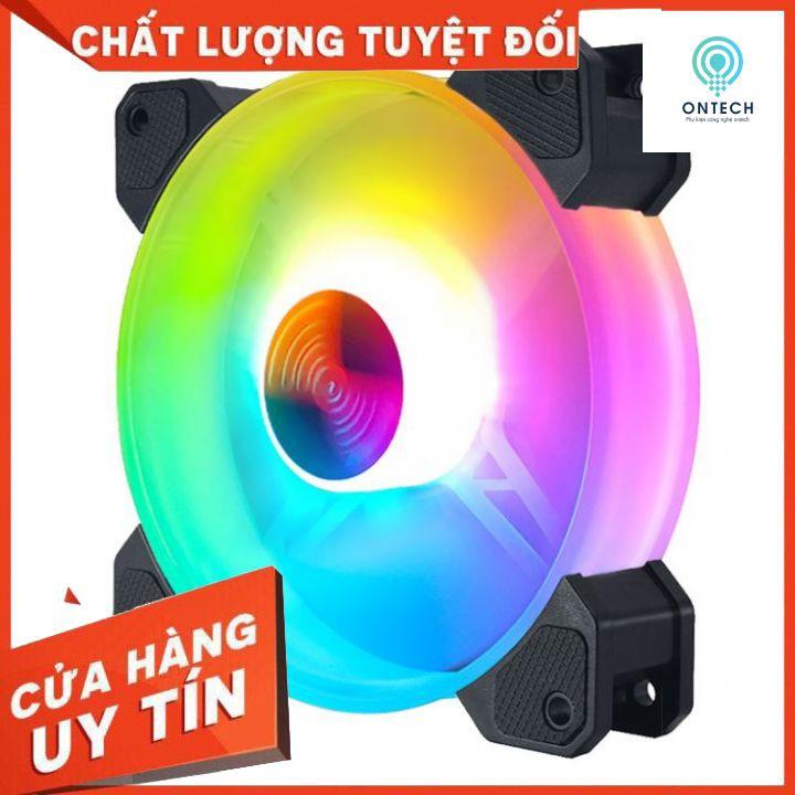 Fan Case Coolmoon Y1 RGB - Quạt Tản Nhiệt Máy Tính