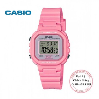 Đồng hồ điện tử nữ Casio LA-20WH-4A1DF dây nhựa thumbnail