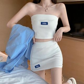 Áo Ống Màu Trắng Thiết Kế Đơn Giản Thời Trang Dành Cho Nữ